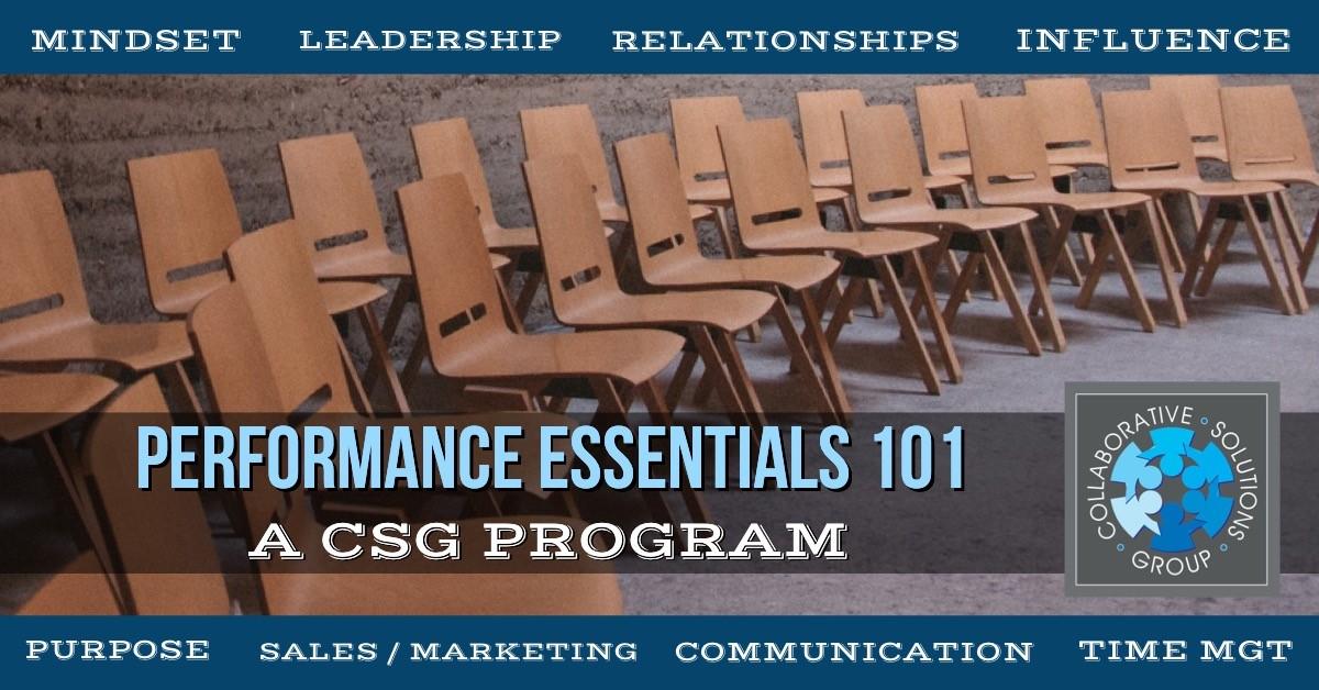 Performance Essentials